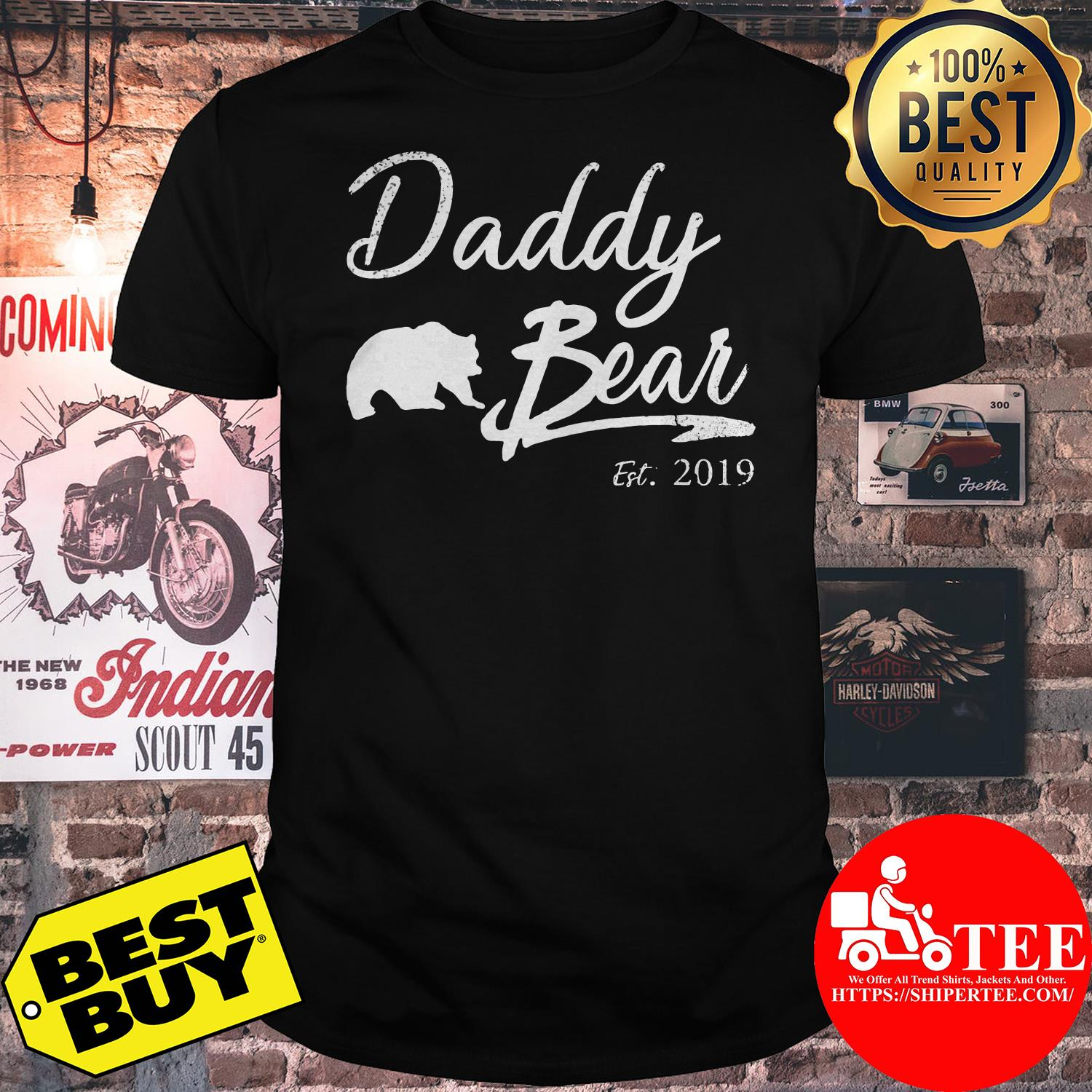 Daddy Bear Est. 2019 For Father Day shirt