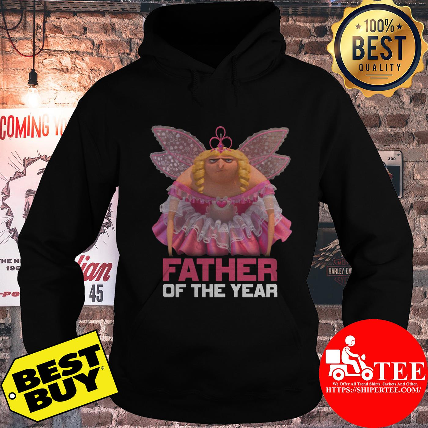 Despicable Me Father of the Year Fairy Gru hoodie