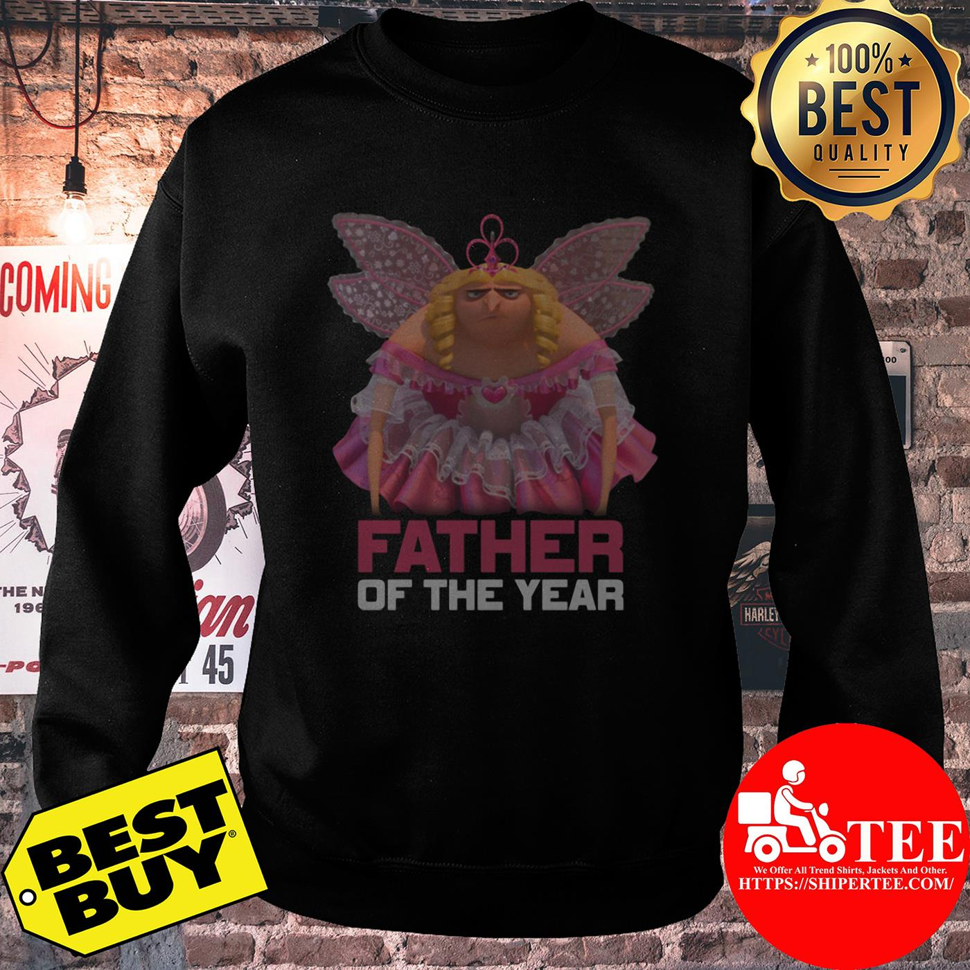 Despicable Me Father of the Year Fairy Gru sweatshirt
