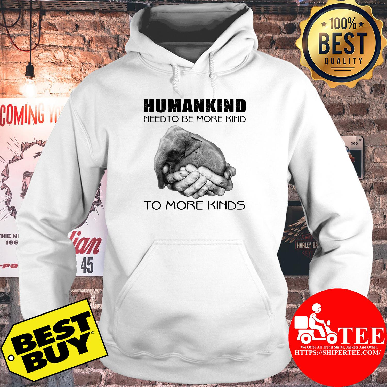 Humankind need to be more kind hoodie