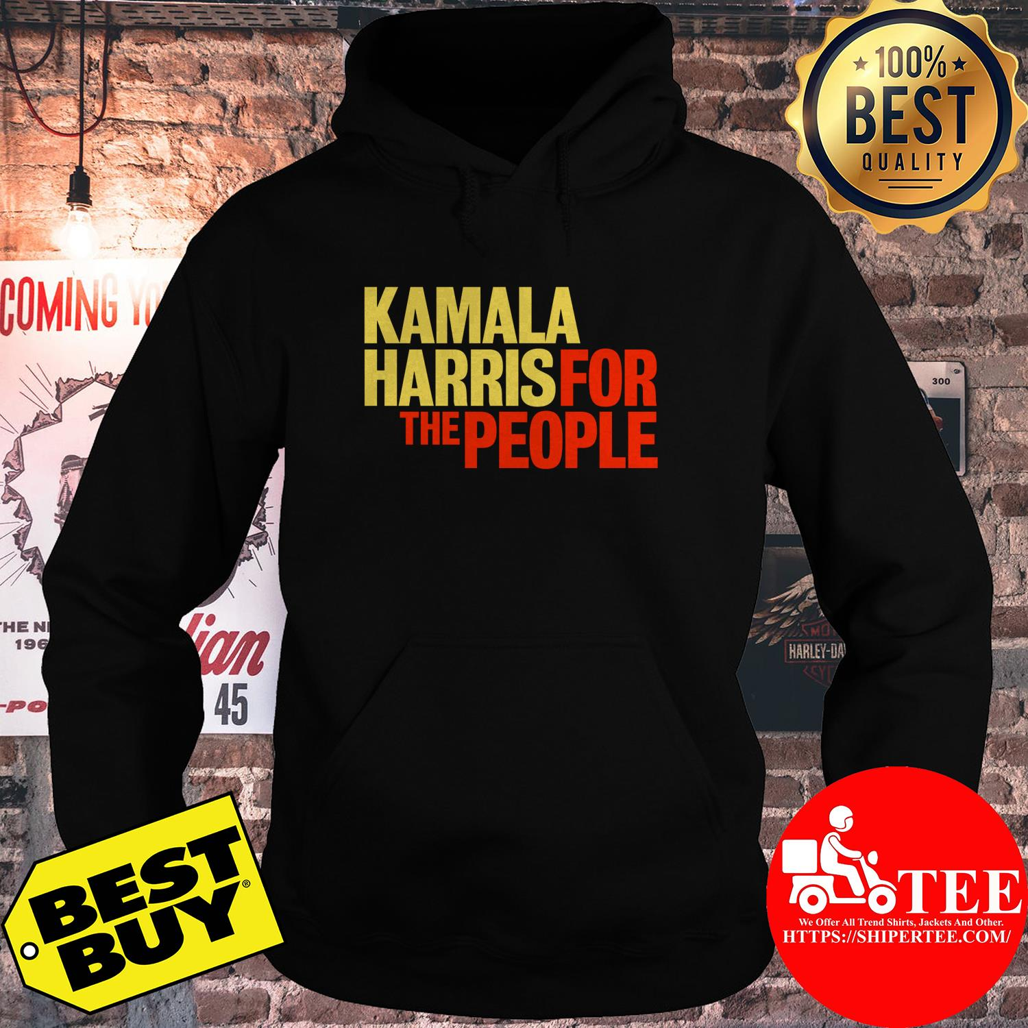 Kamala Harris for The People President 2020 Campaign hoodie