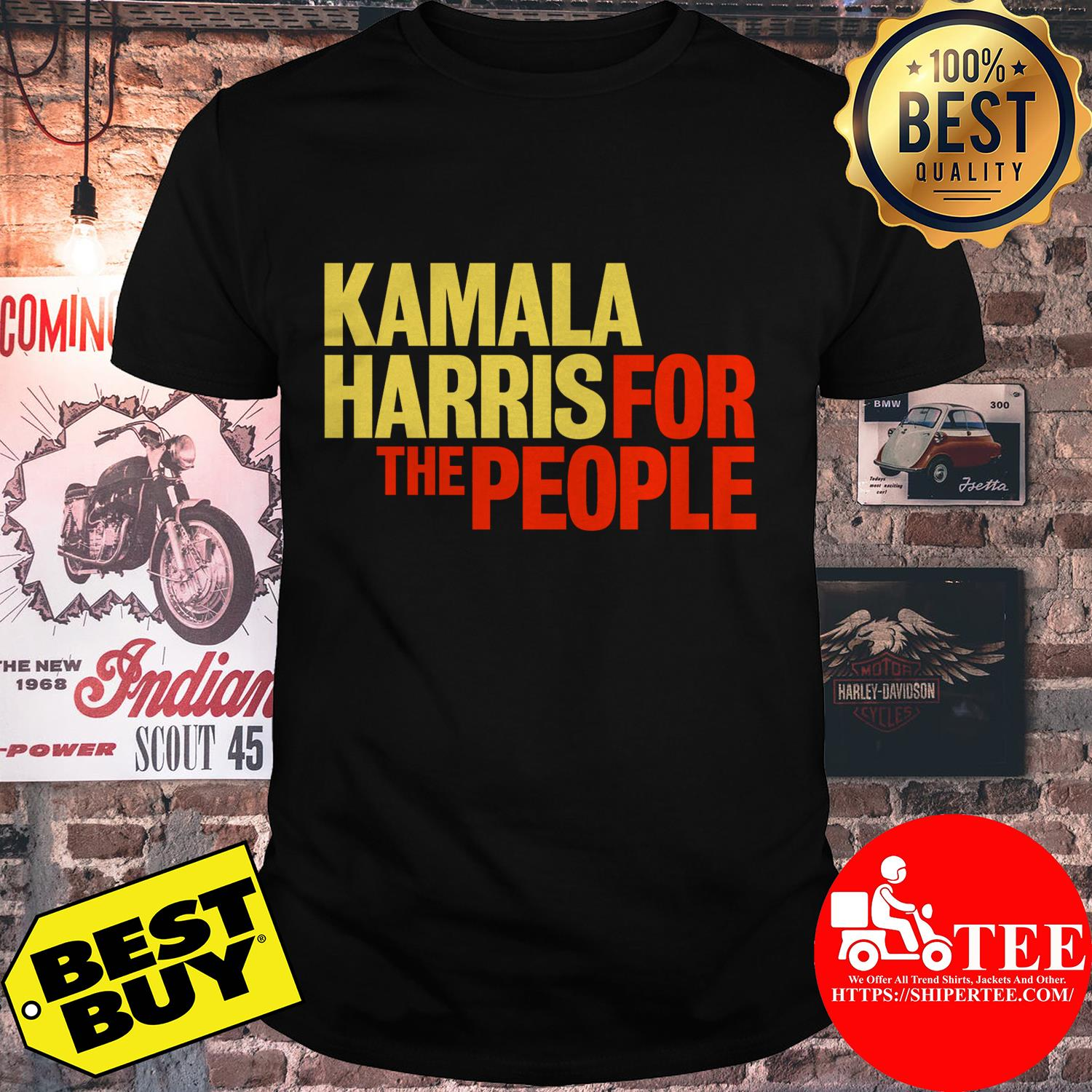 Kamala Harris for The People President 2020 Campaign Shirt