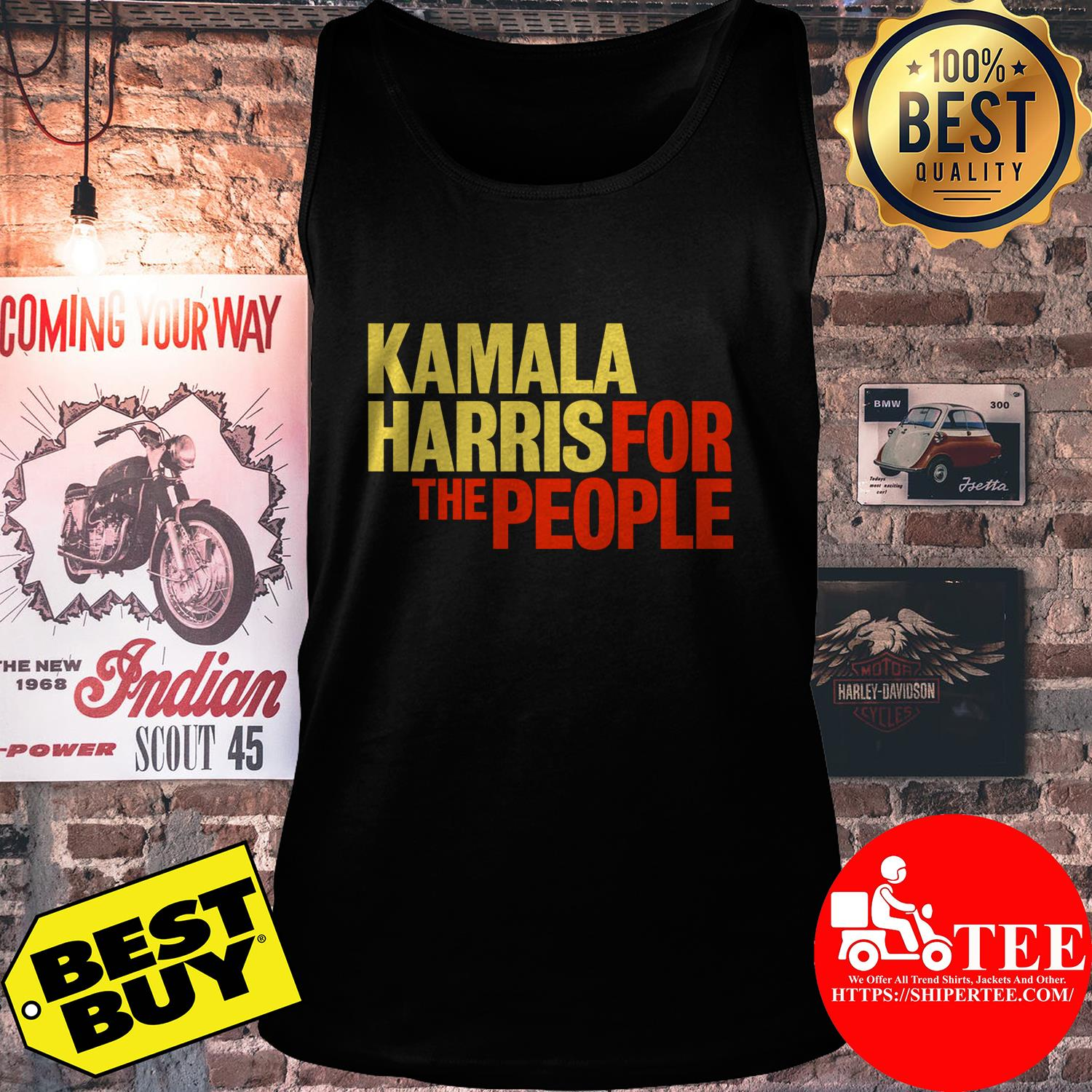 Kamala Harris for The People President 2020 Campaign tank top
