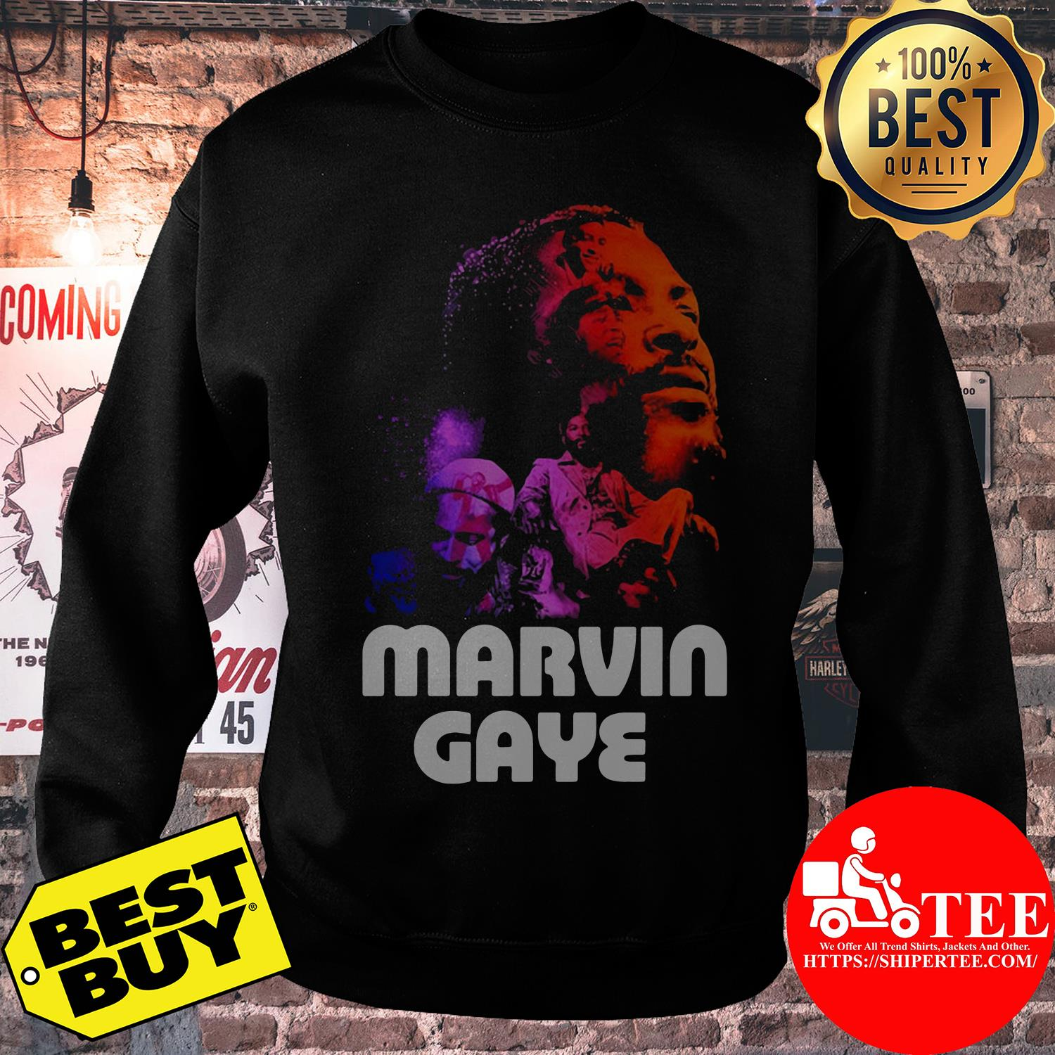 Marvin Gaye Artwork sweatshirt