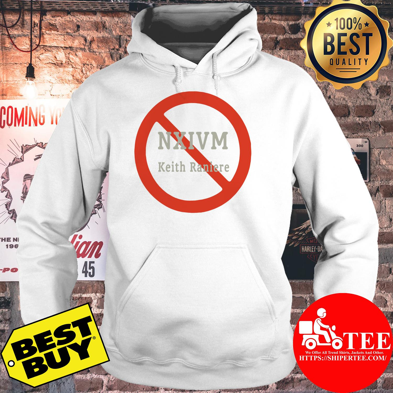 NXIVM Keith Raniere Golden Grey Graphic Novelty Tee hoodie