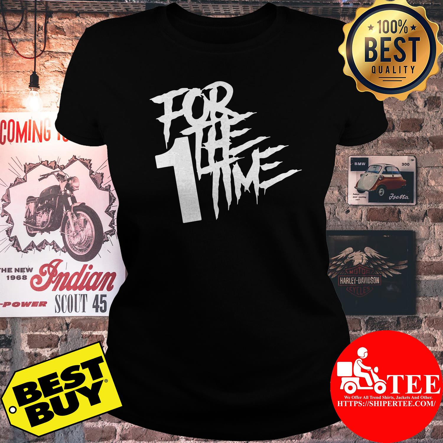 Official For the first time ladies tee