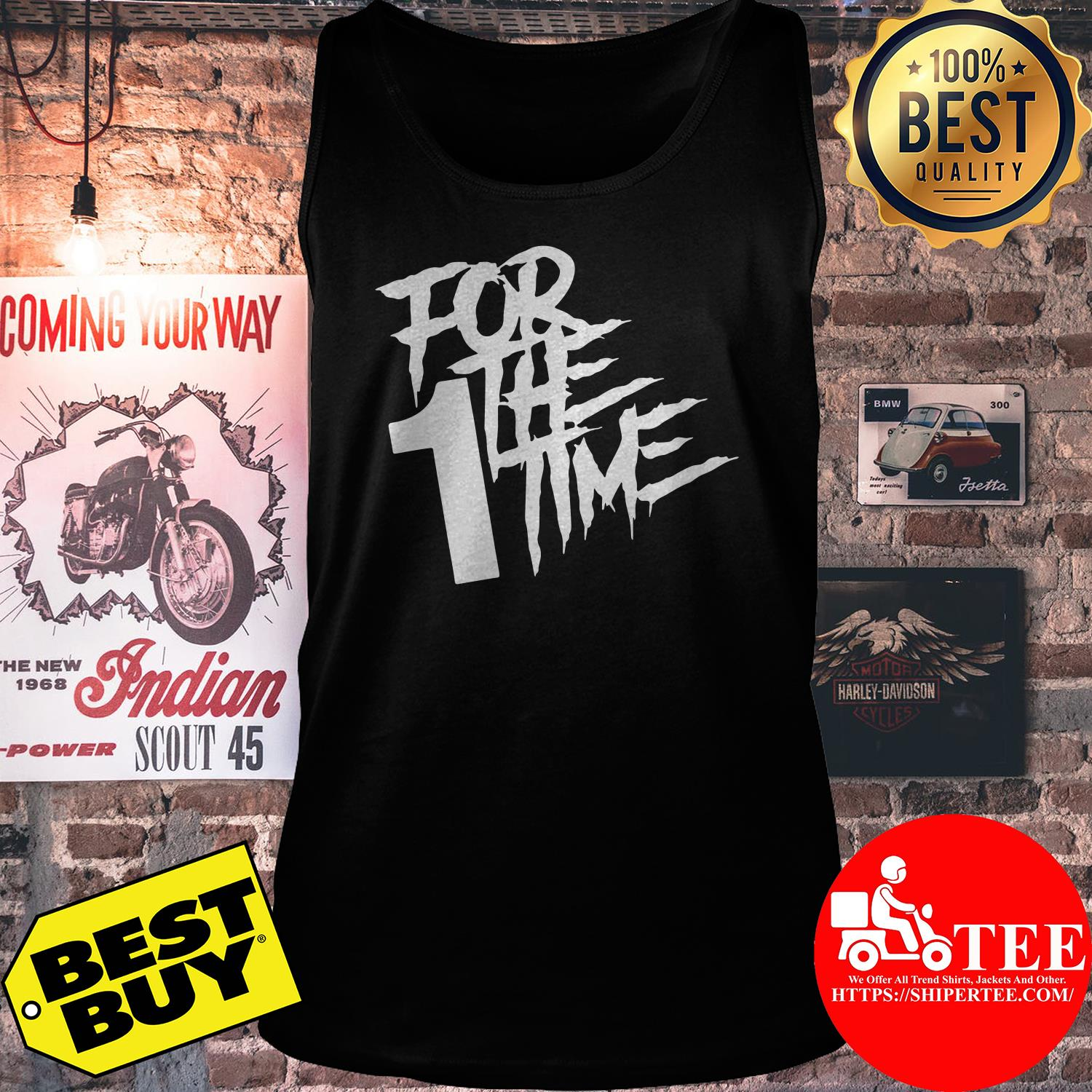 Official For the first time tank top