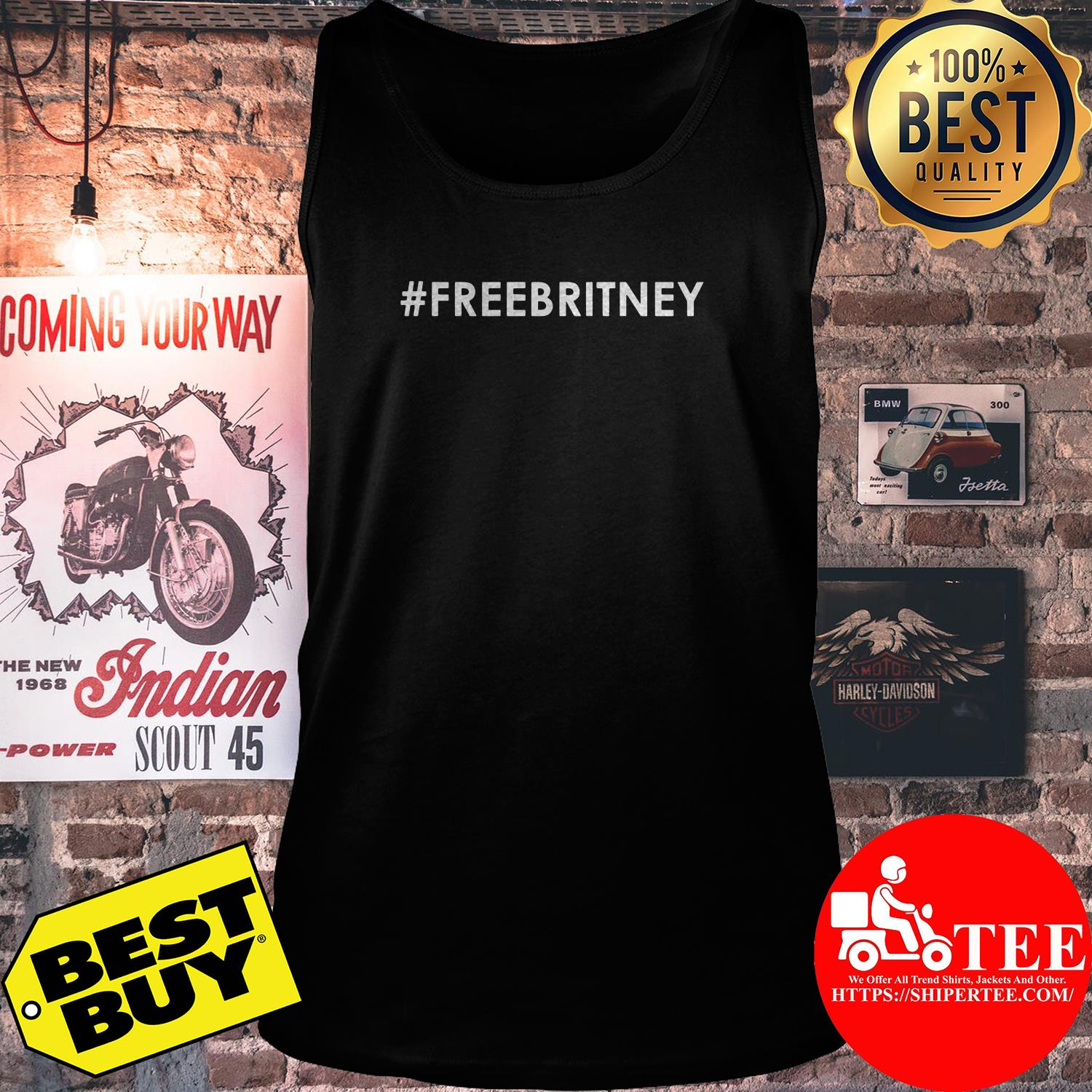 Official Free Britney tank top