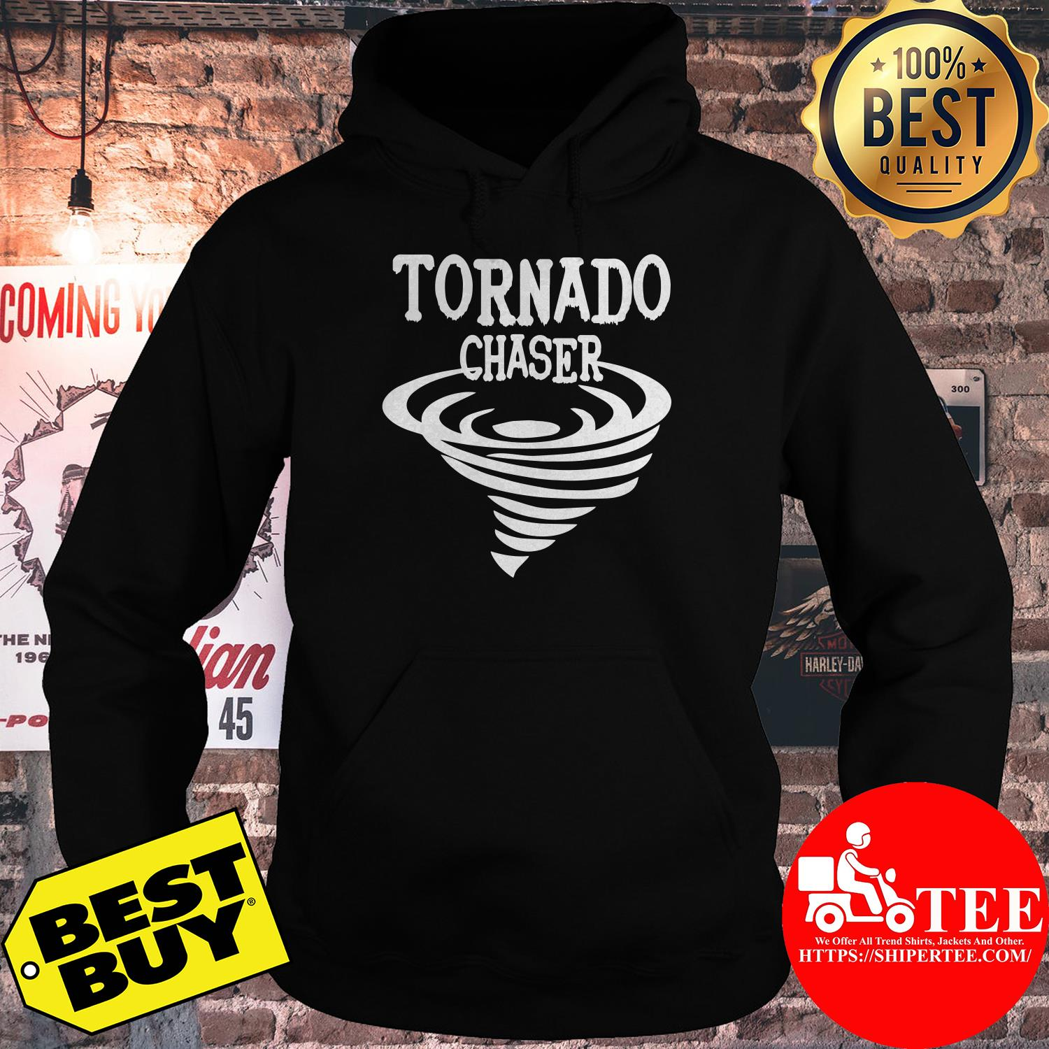 Official Tornado Chaser Storm hoodie