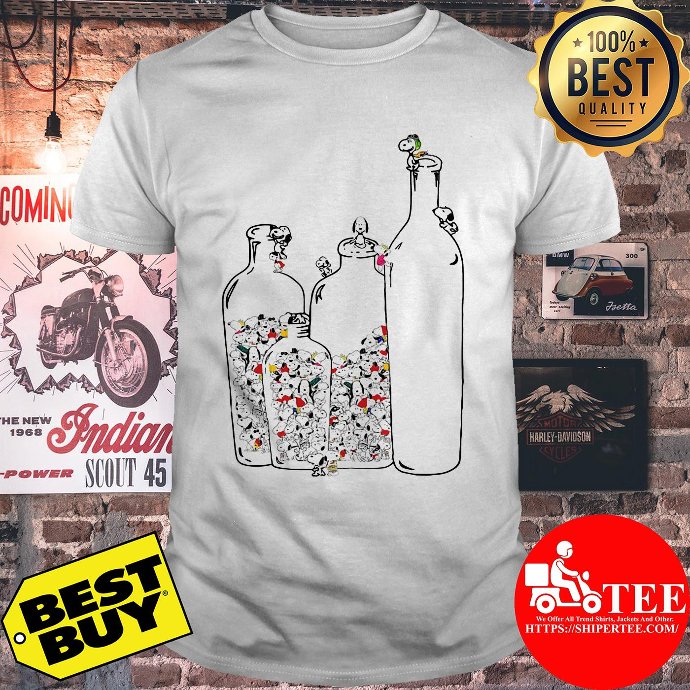 Snoopy in Bottles shirt