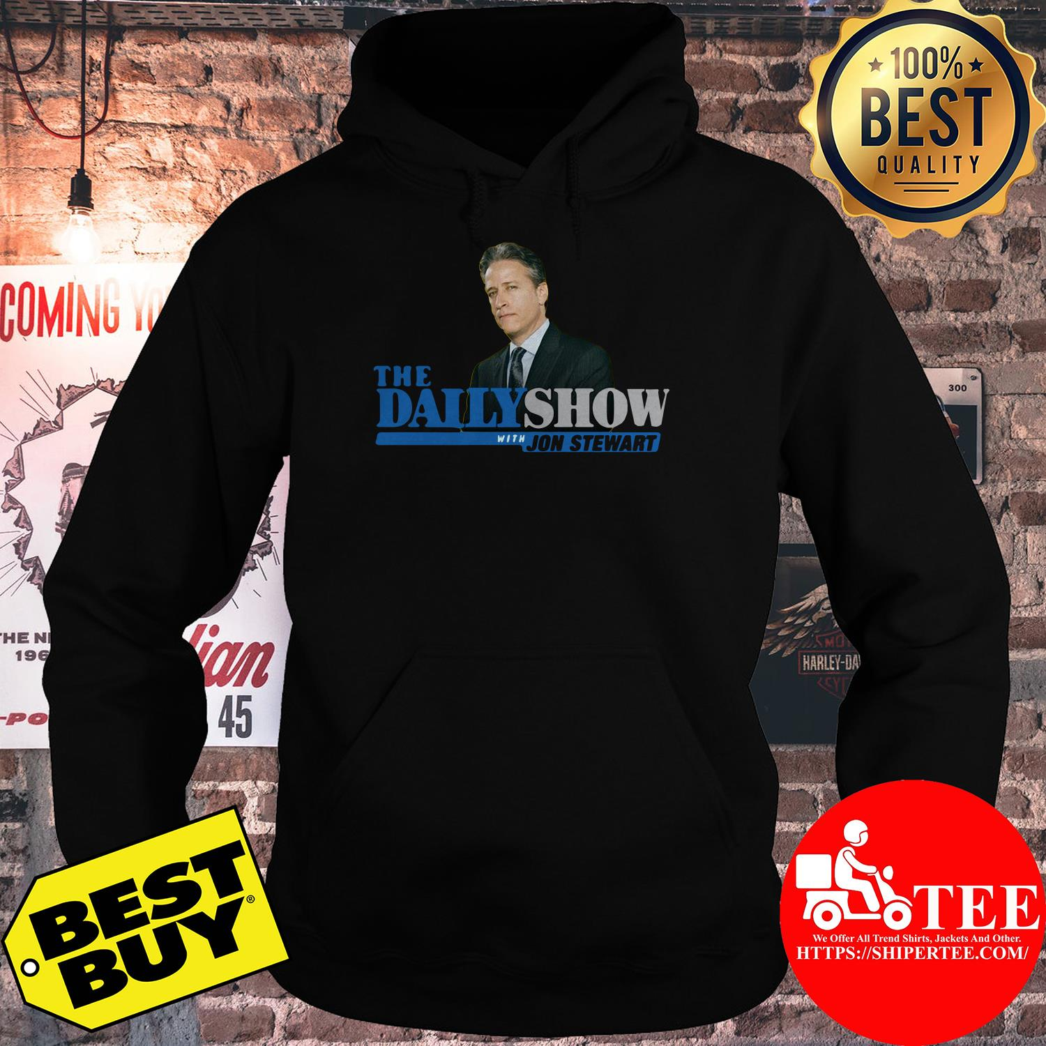 The Daily Show With Jon Stewart hoodie