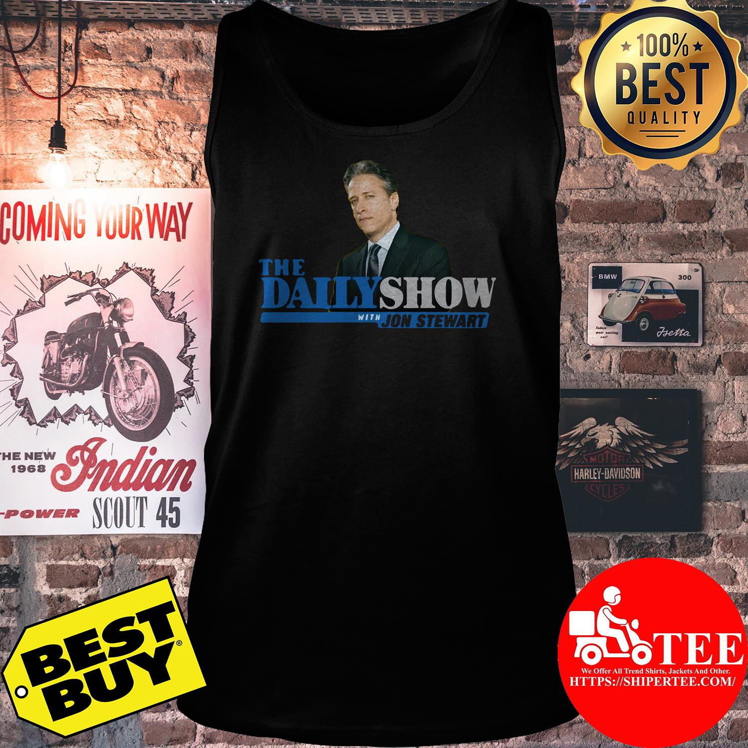 The Daily Show With Jon Stewart tank top