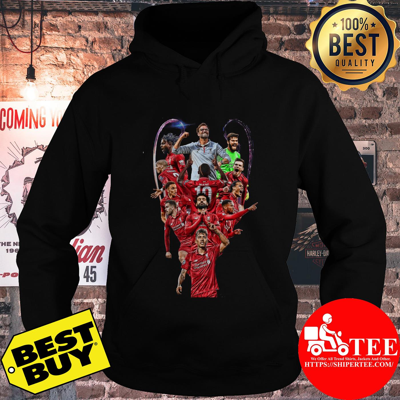 World Cup team standard Chartered Liverpool hoodie