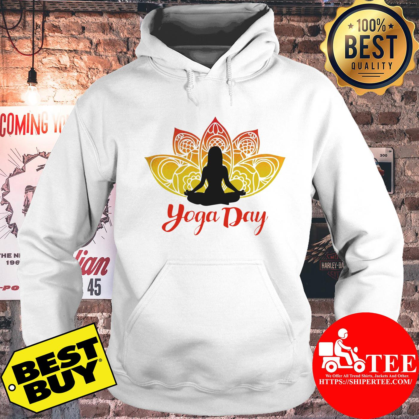Yoga Day 21th June 2019 hoodie