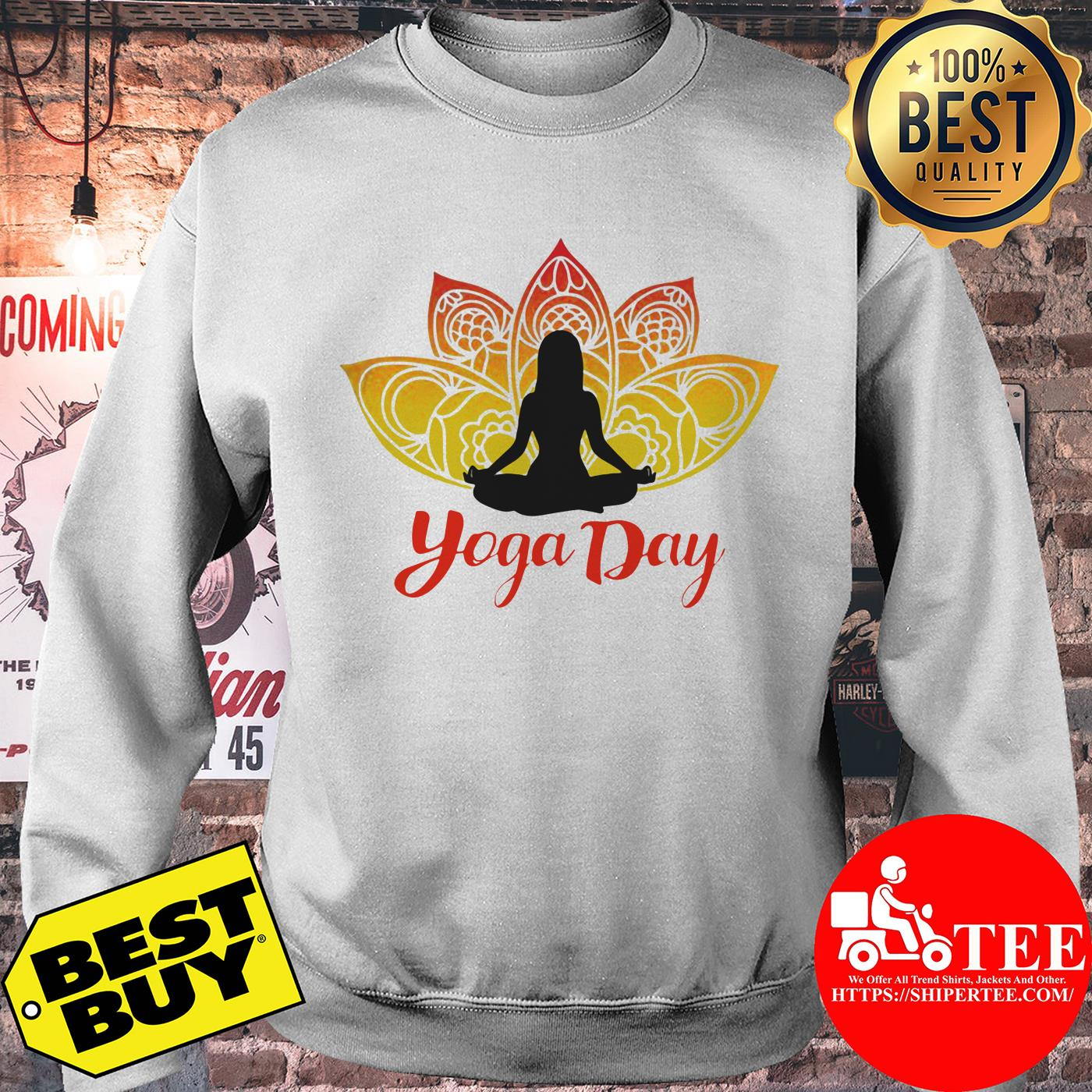Yoga Day 21th June 2019 sweatshirt