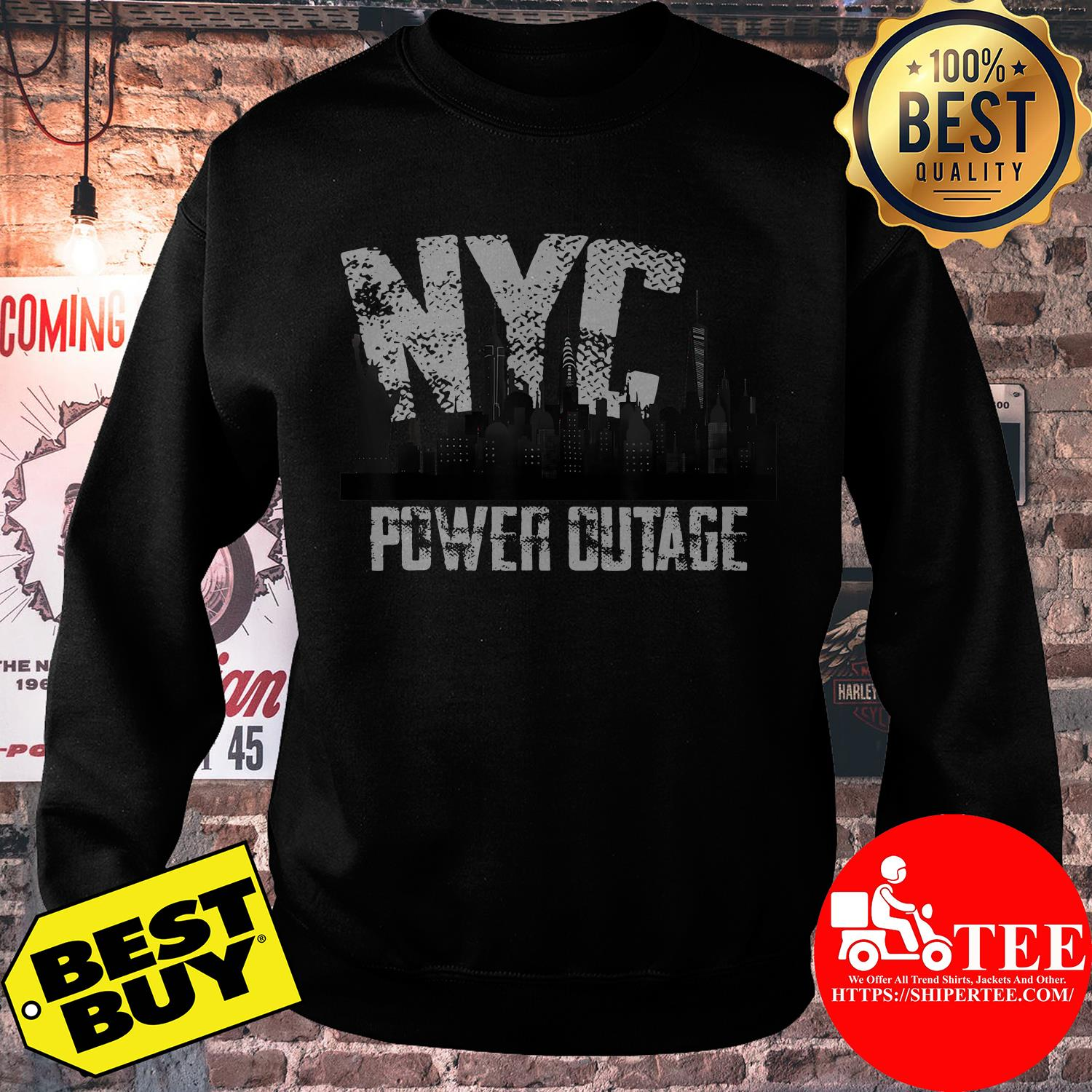 Official NYC Power Outage sweatshirt