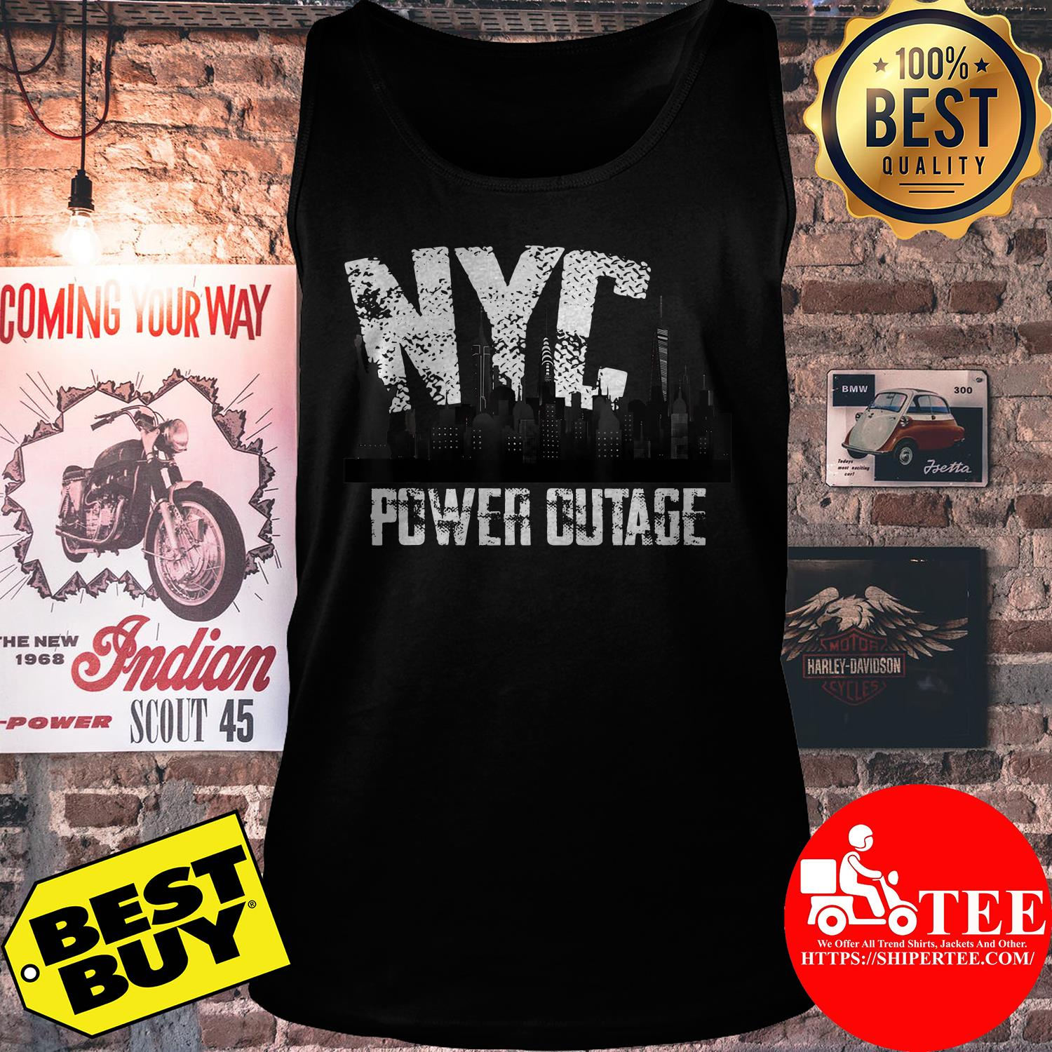 Official NYC Power Outage tank top
