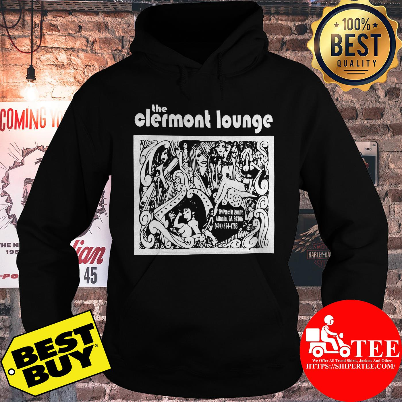 Official Vintage Clermont Lounge hoodie