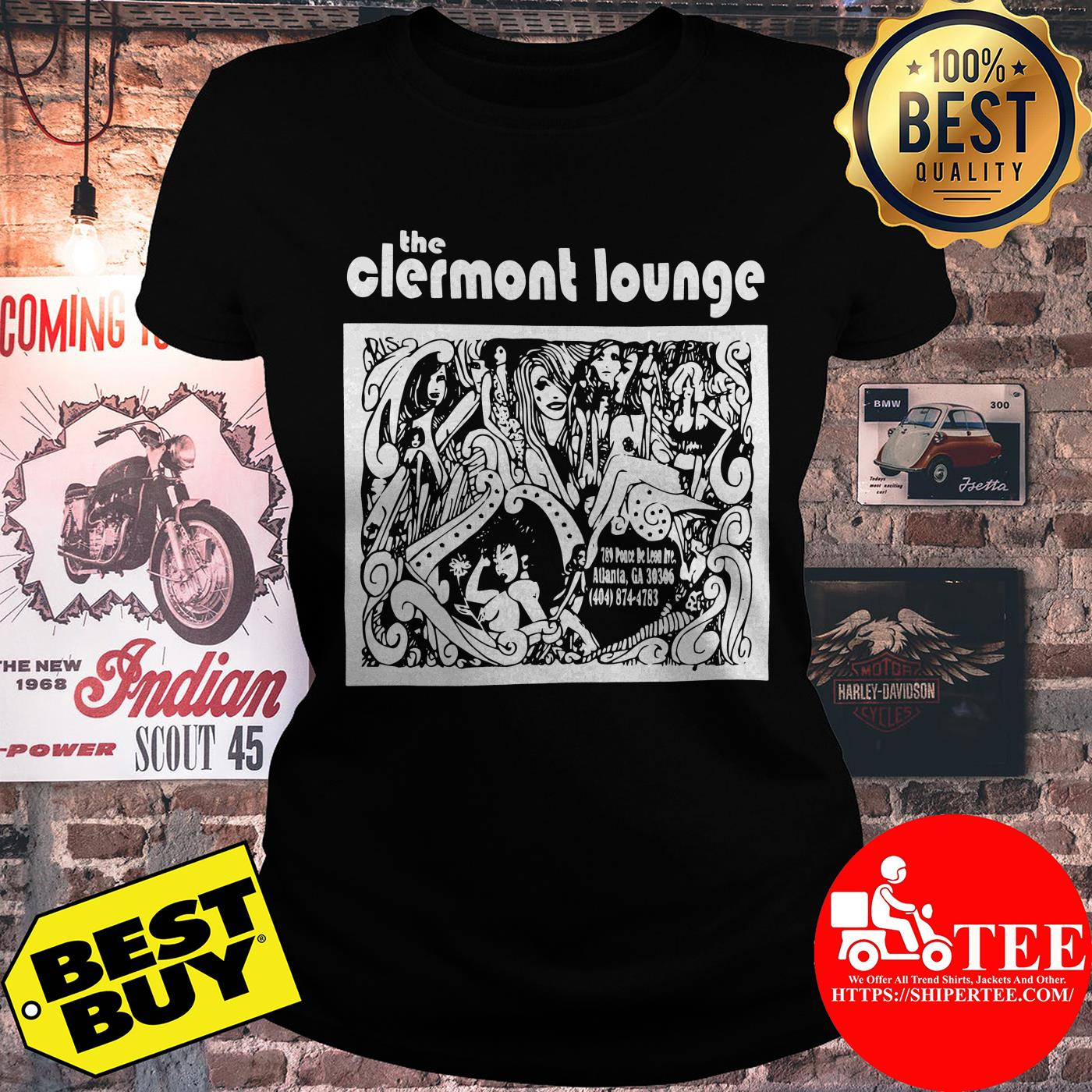 Official Vintage Clermont Lounge ladies tee