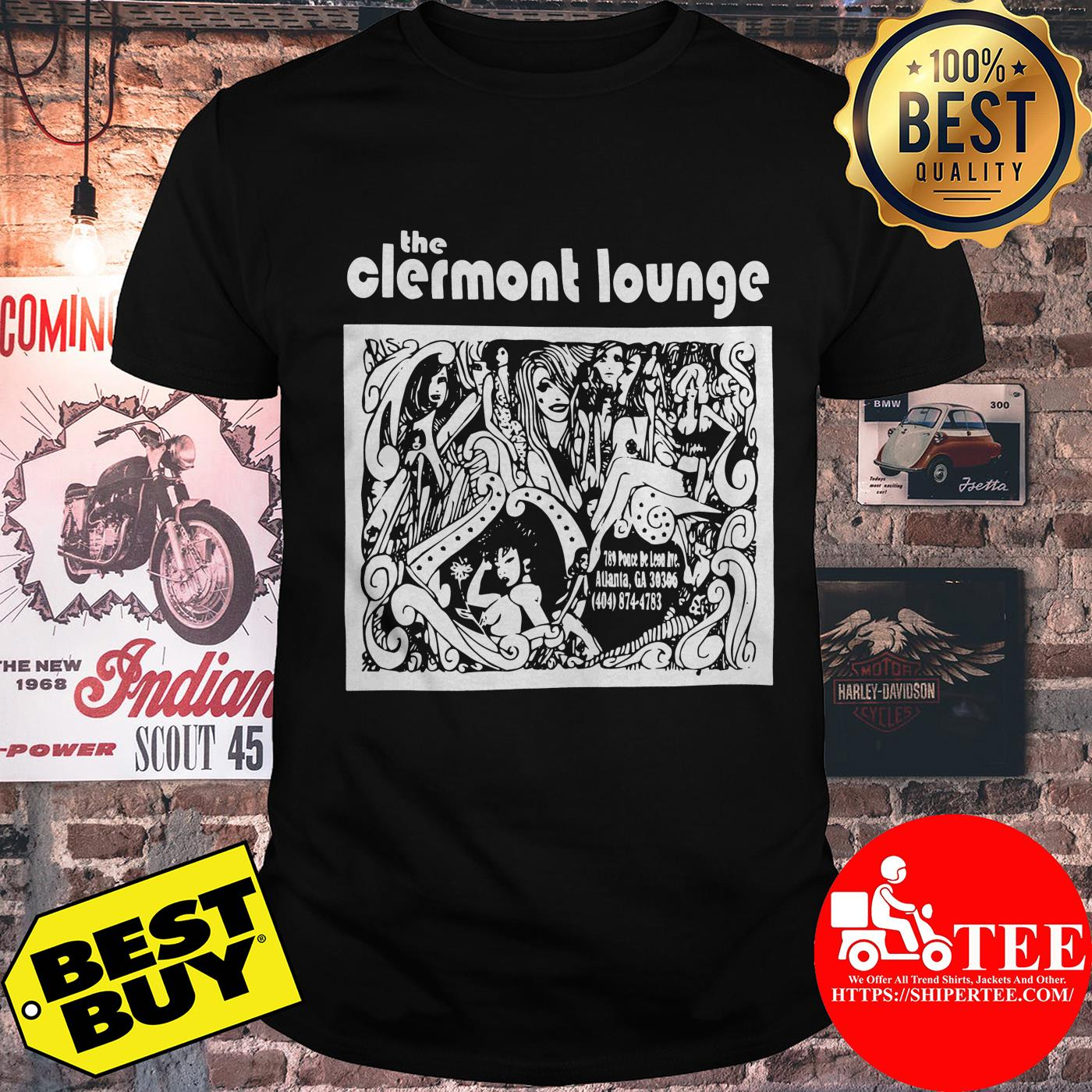 Official Vintage Clermont Lounge shirt