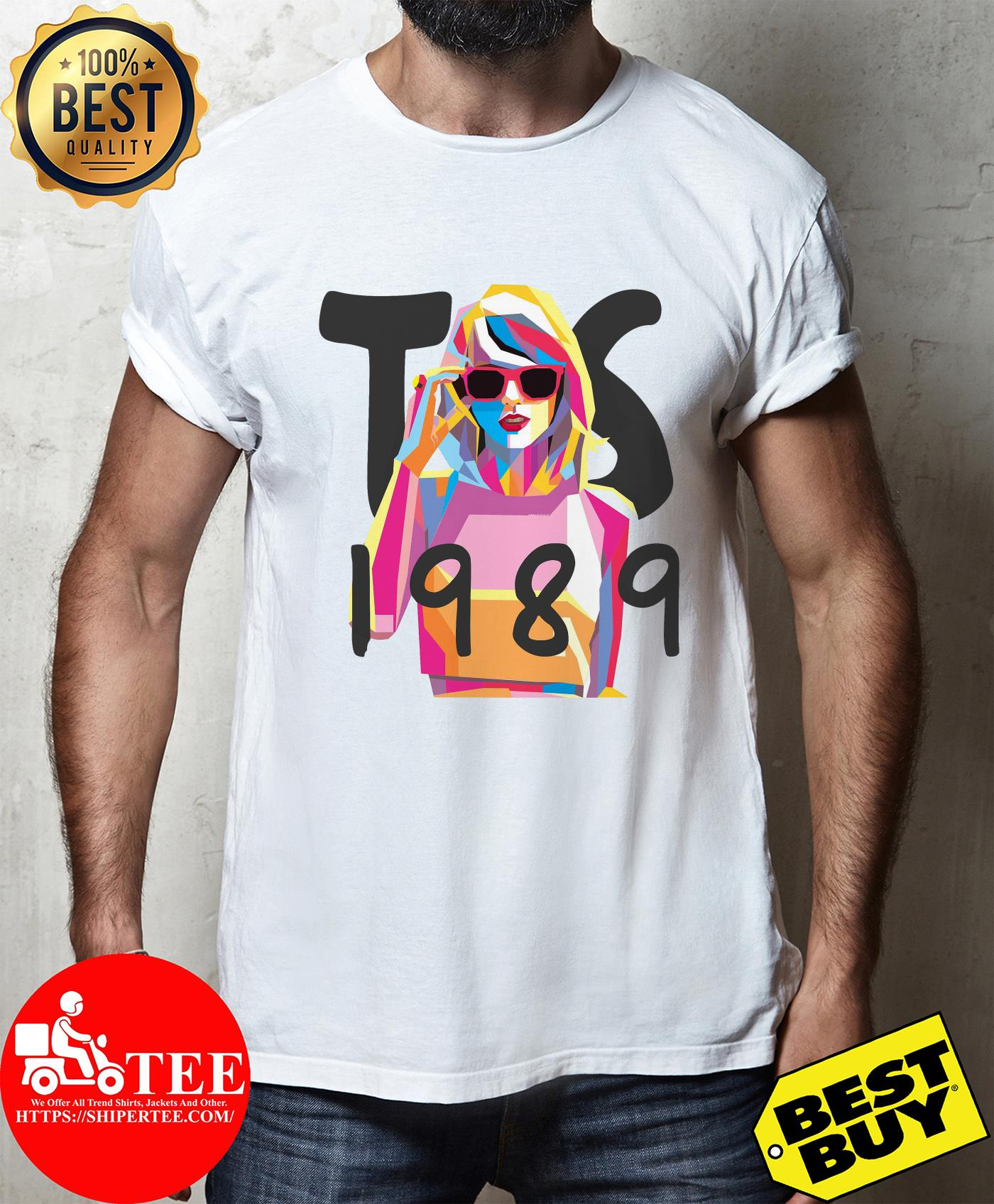 Women Casual Fashion Taylor Swift 1989 ladies tee