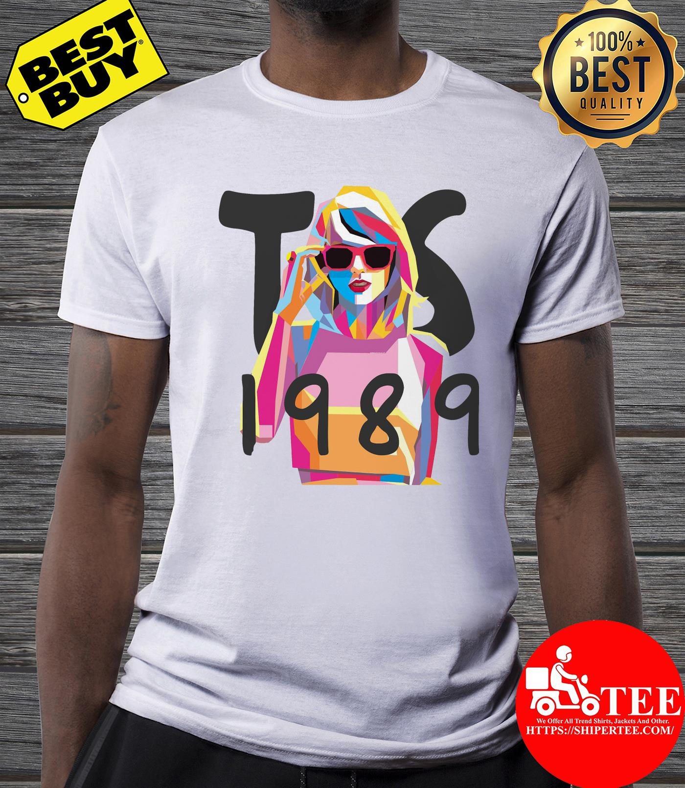 Women Casual Fashion Taylor Swift 1989 shirt
