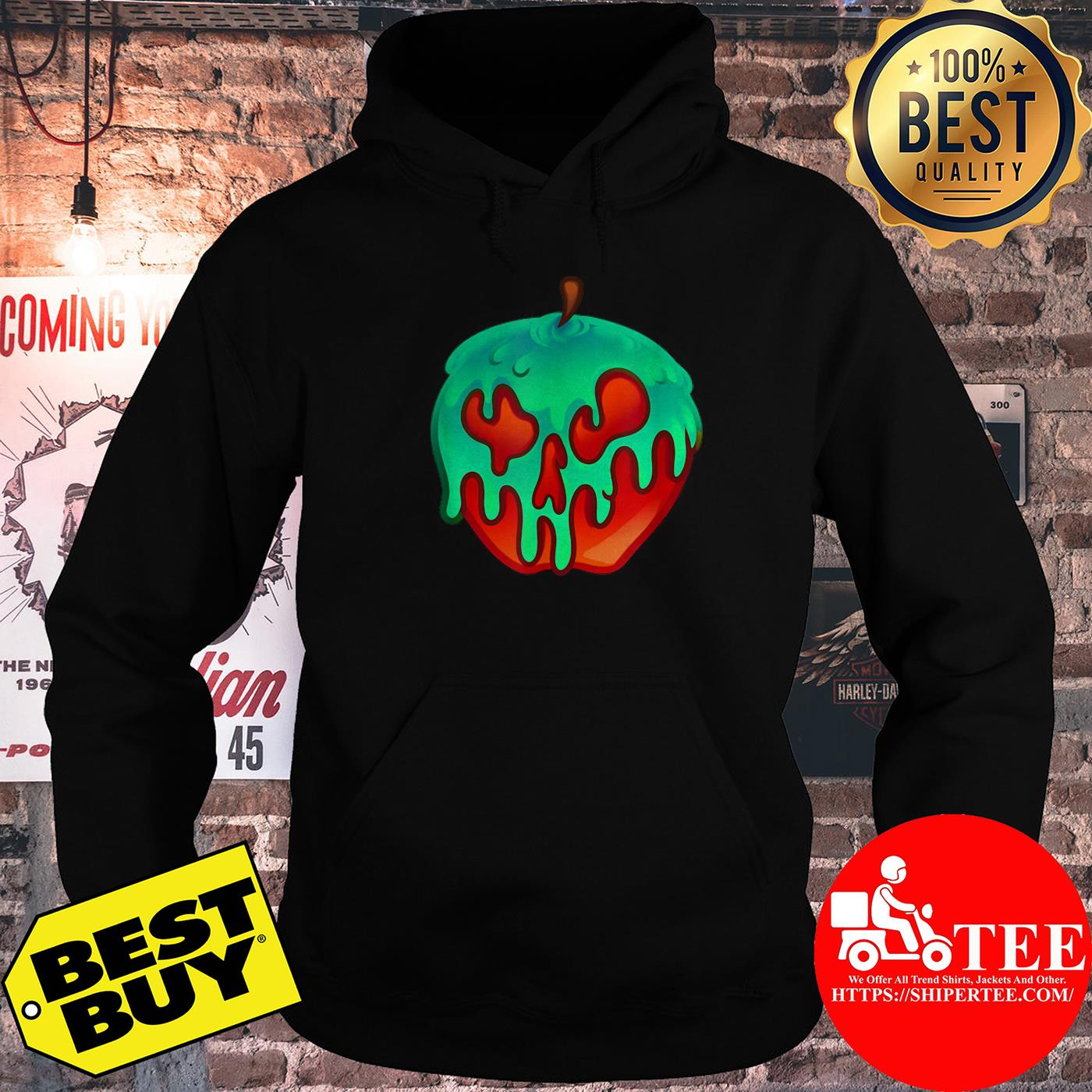 Awesome Poison Apple Snow White Princess Halloween Costume hoodie