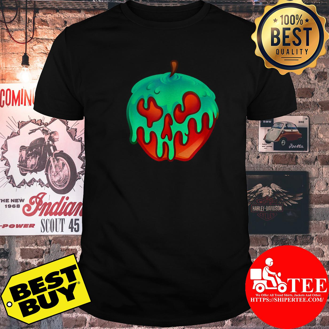 Awesome Poison Apple Snow White Princess Halloween Costume shirt