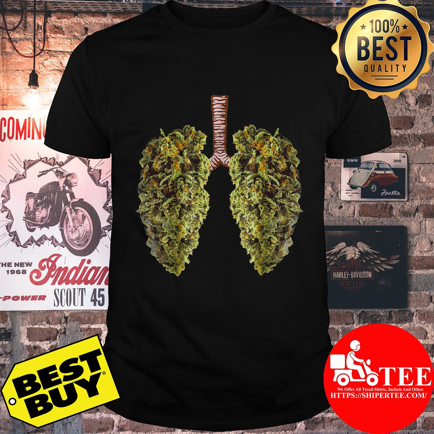 Official Leaf of Cannabis Lung shirt