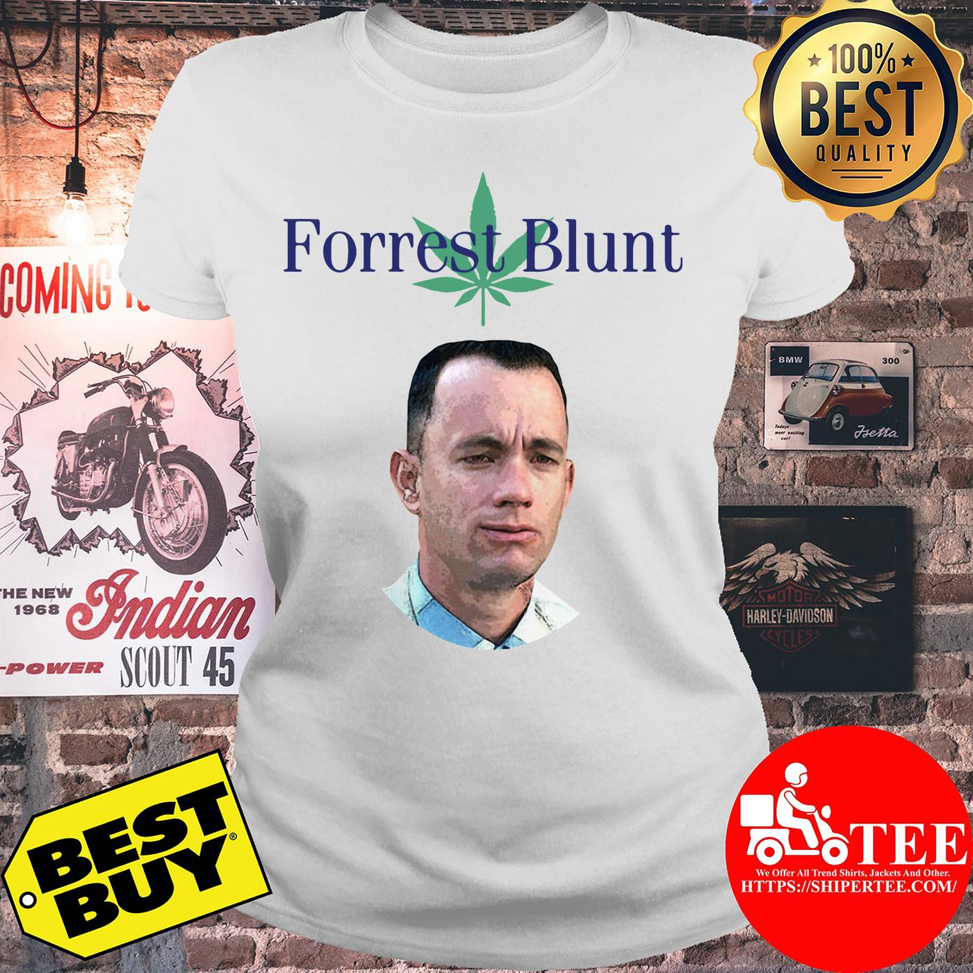 Tom Hanks Forrest Gump Forrest Blunt ladies tee