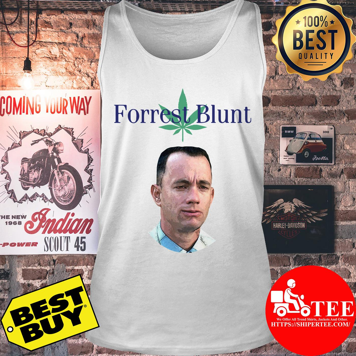 Tom Hanks Forrest Gump Forrest Blunt tank top