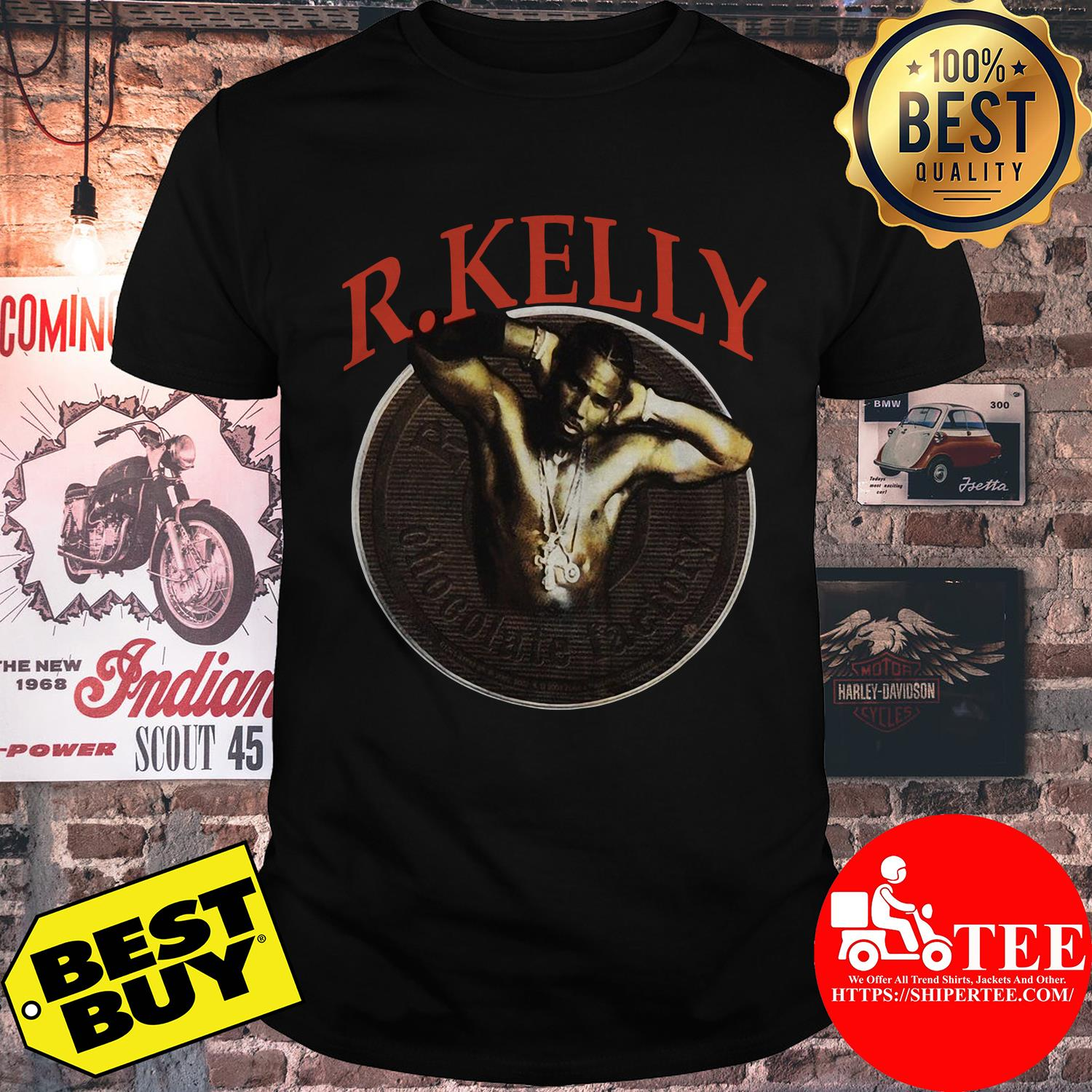 Vintage R. Kelly 90s 2000s Chocolate Factory Tour shirt