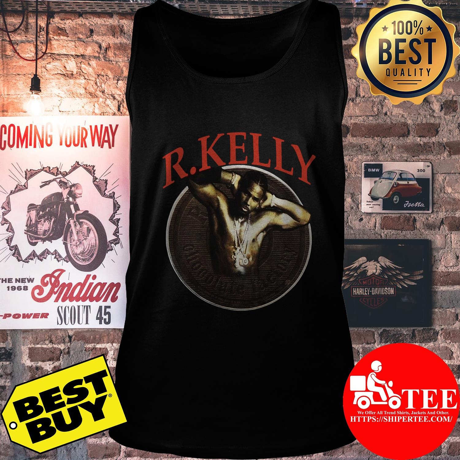 Vintage R. Kelly 90s 2000s Chocolate Factory Tour tank top