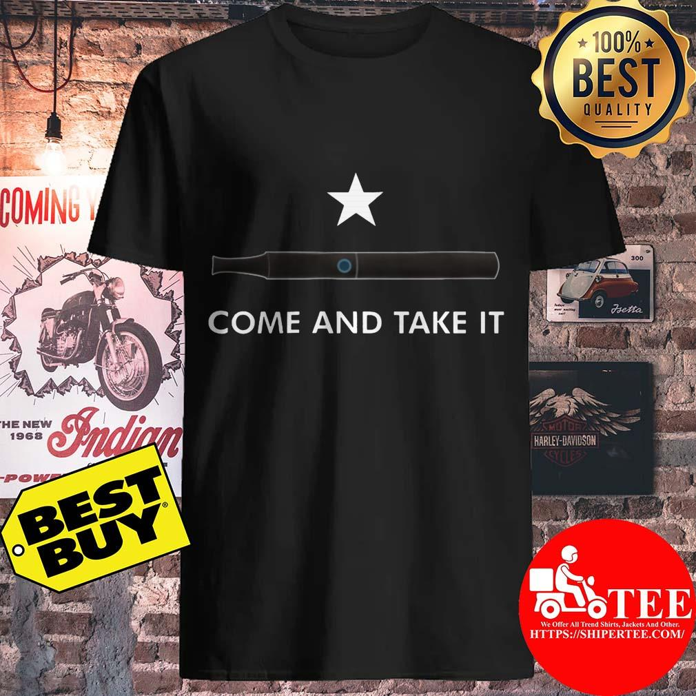 Come and Take It Vape shirt