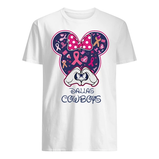 MICKEY MOUSE DALLAS COWBOYS AWARENESS SHIRT