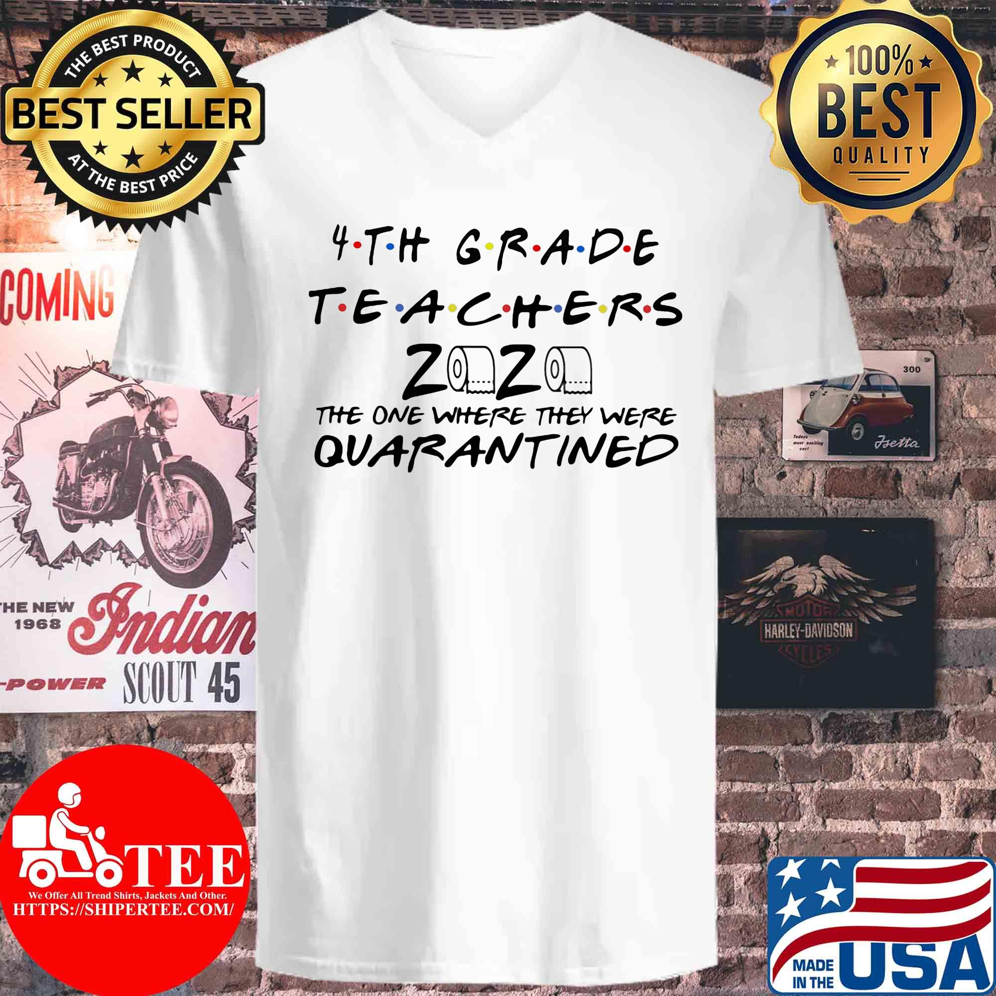 4th grade teachers 2020 the one where they were quarantined s V-neck
