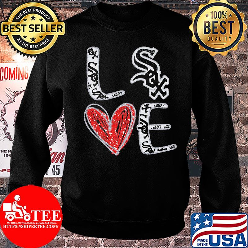 Love Chicago White Sox Heart shirt