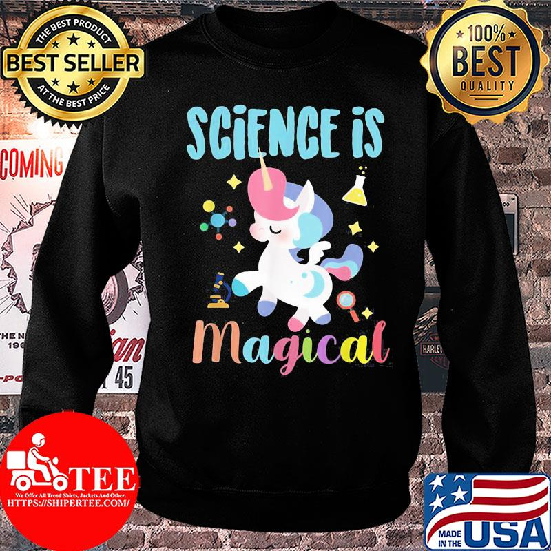 Official Unicorn Science is magical shirt