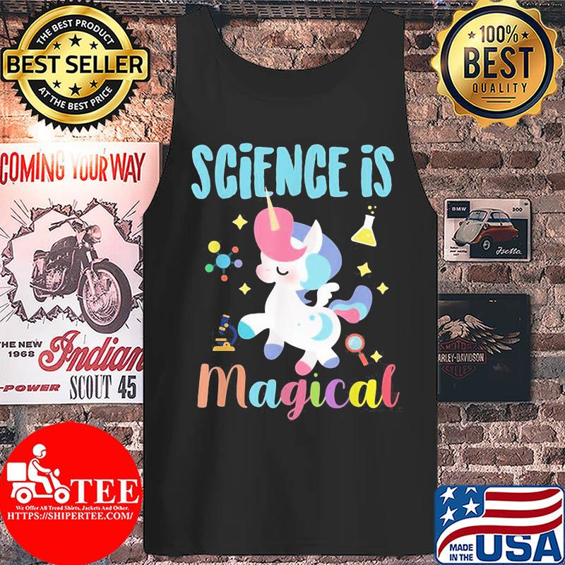 Official Unicorn Science is magical s Tank top