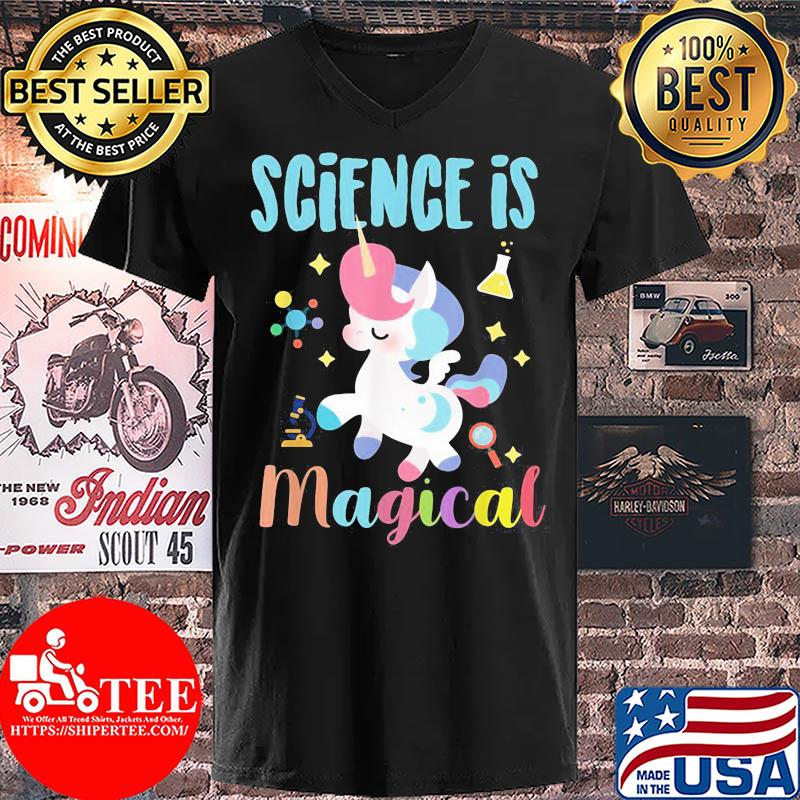 Official Unicorn Science is magical s V-neck