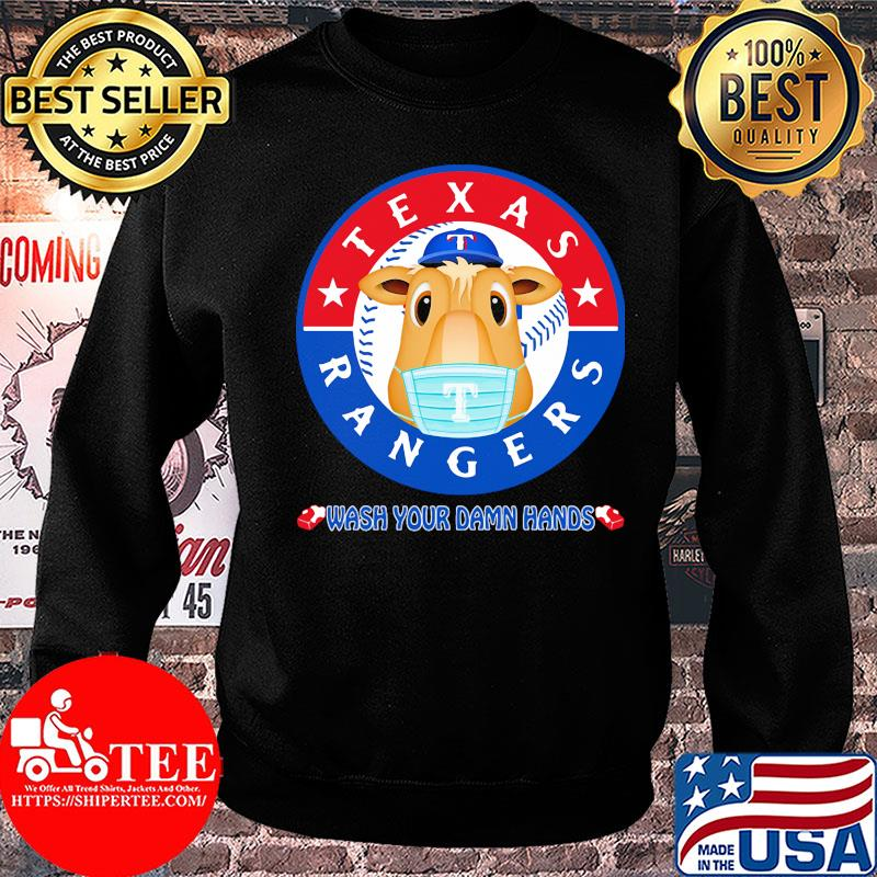 Texas Rangers Baseball Wash Your Damn Hands Covid-19 shirt