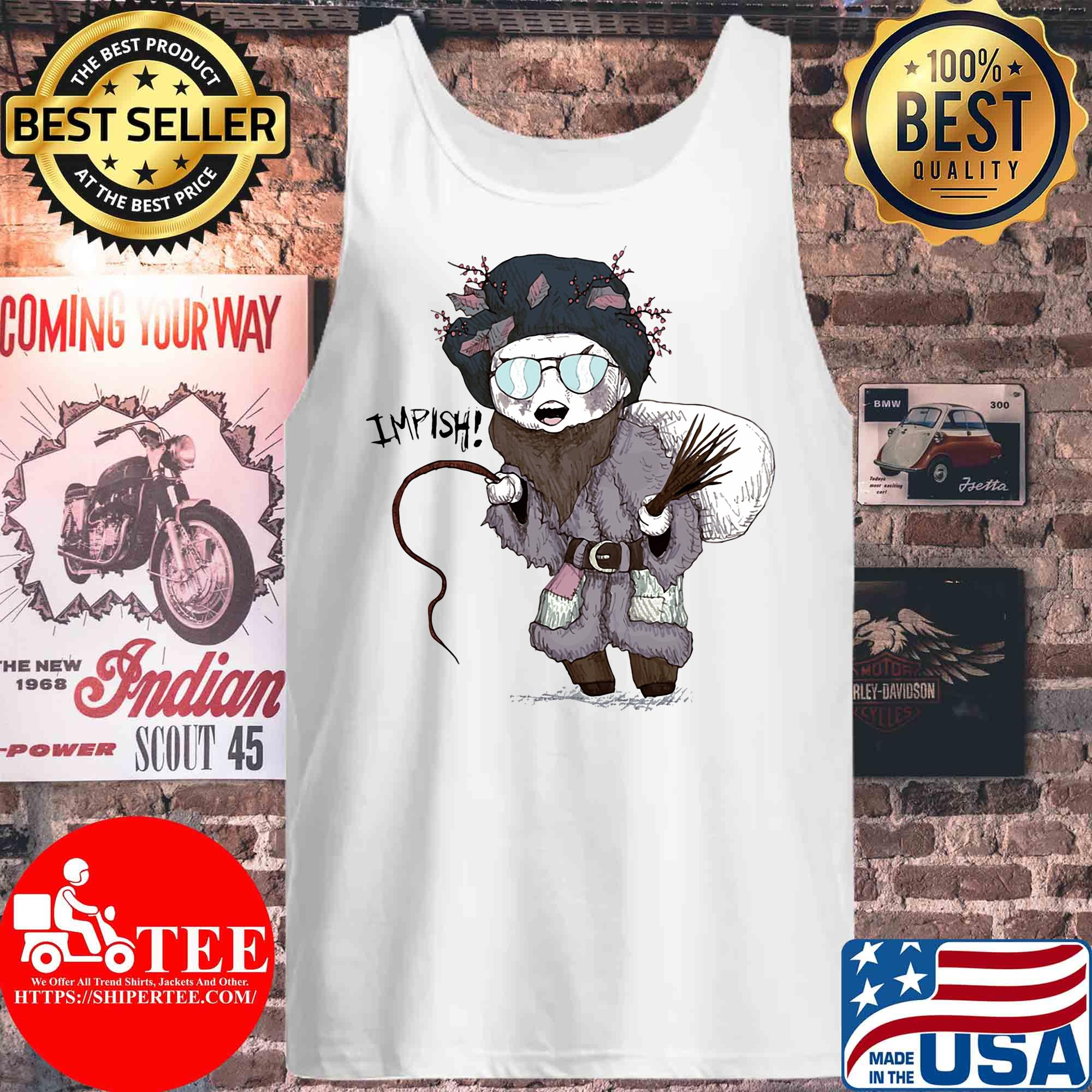 Impish Cheer Or Fear Belsnickel Is Here s Tank top