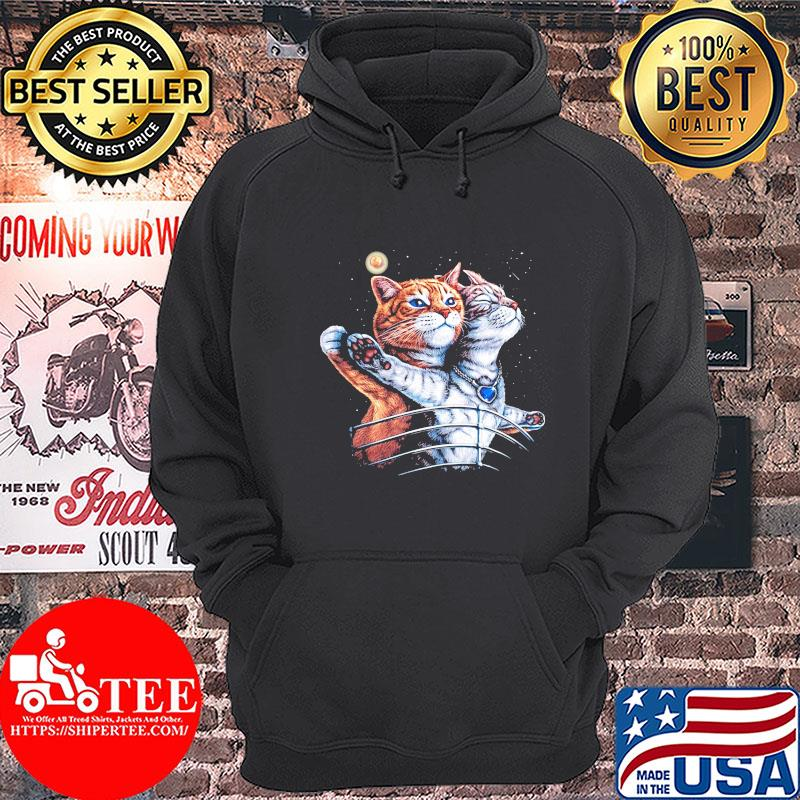 Official Cat titanic s Hoodie